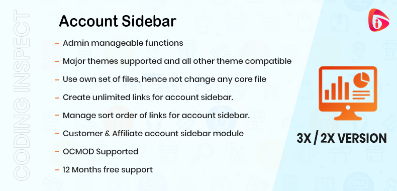 Account Sidebar