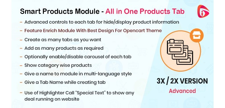 Smart Products Module - All in One Products Tab